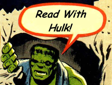 Being Read To By The Hulk: Priceless.