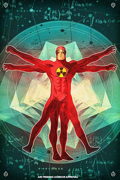 Solar: Man of the Atom cover by Doe.