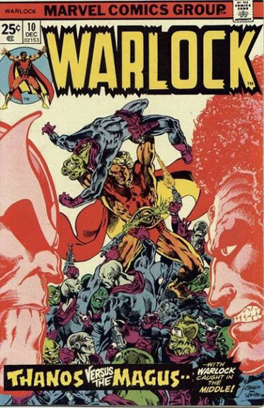 Warlock #10, part of Jim Starlin's classic story