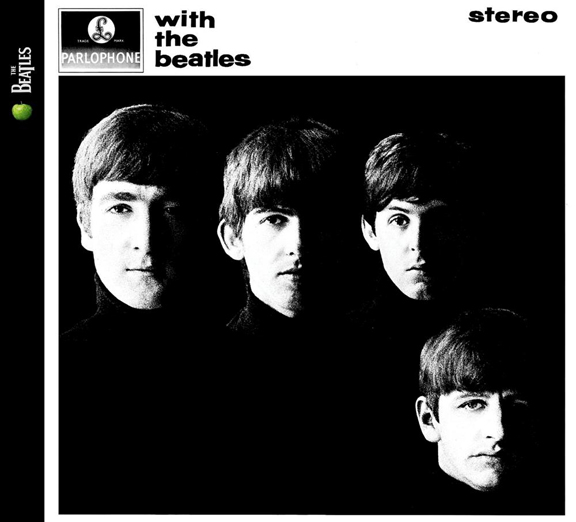 The classic With The Beatles cover.