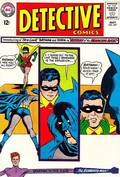 Detective Comics #327, the first issue with the New-Look Batman.