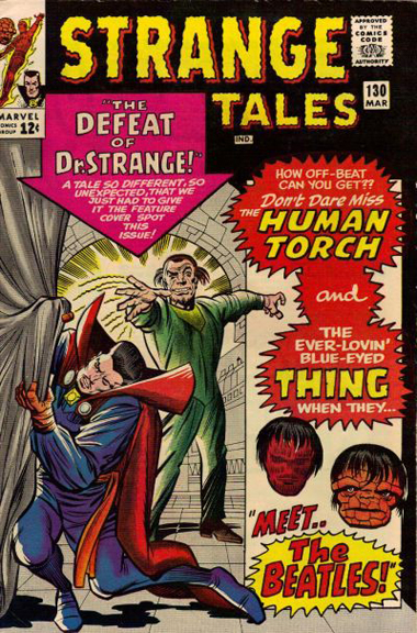 Strange Tales #130. Does it get any better than The Thing in a Beatles wig?