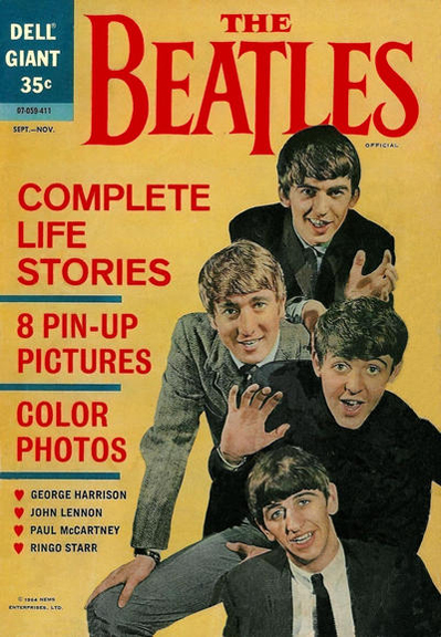 Dell's The Beatles comic book.