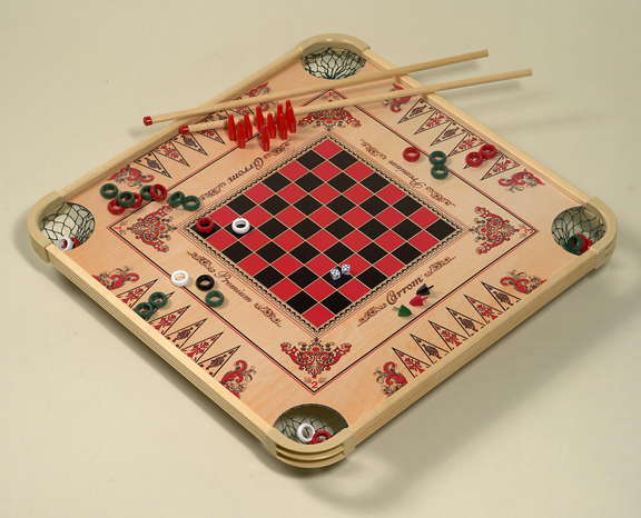 A Carrom board