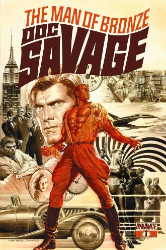 Dynamite's All-New Doc Savage #1 With Covers By Alex Ross