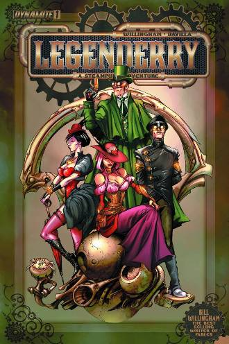 Bill Willingham and Sergio Fernandez Davila's Legendeery: A Steampunk Adventure #1 (of 7)