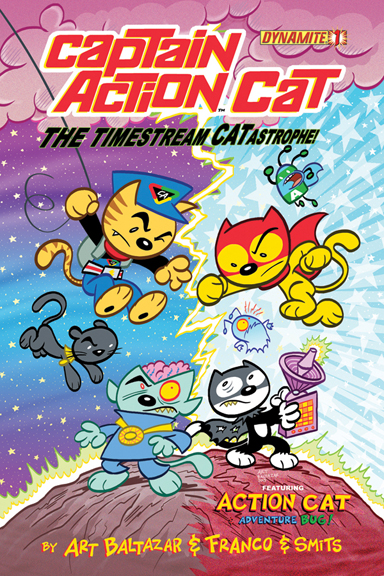 Captain Action Cat: The Timestream CATastrophe #1