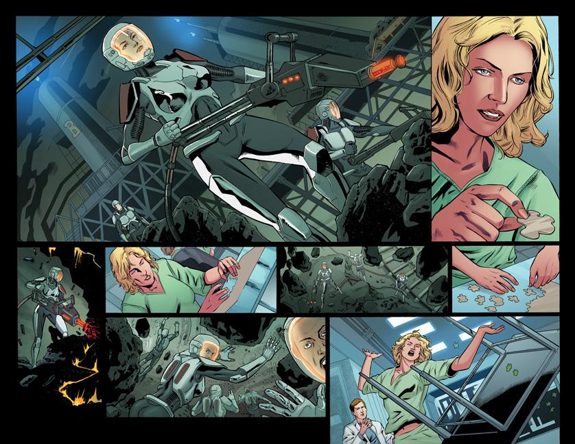 Battlestar Galactica: Six preview
