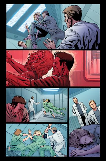 Battlestar Galactica: Six #1 preview
