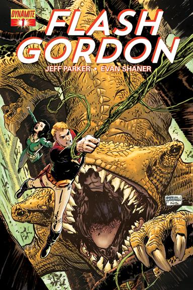 Flash Gordon #1 cover by Gabriel Hardman