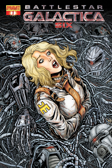 Battlestar Galactica: Six #1 Chris Bolson cover