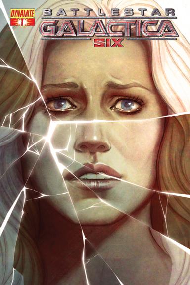 Battlestar Galactica: Six #1 Jenny Frison  cover