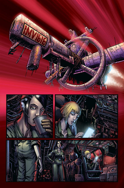 Caliban #1 page 6