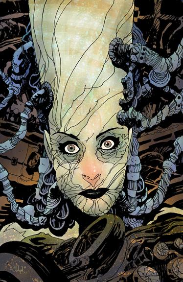 Madame Frankenstein #1. Cover by Christopher Mitten.