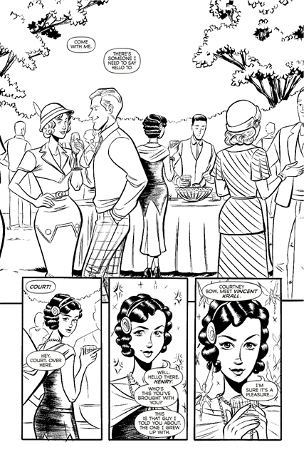 Madame Frankenstein #1 preview page 1.