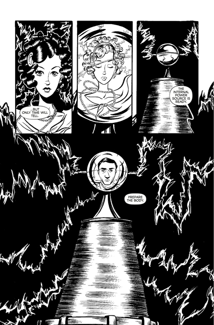 Madame Frankenstein #1 preview page 2.