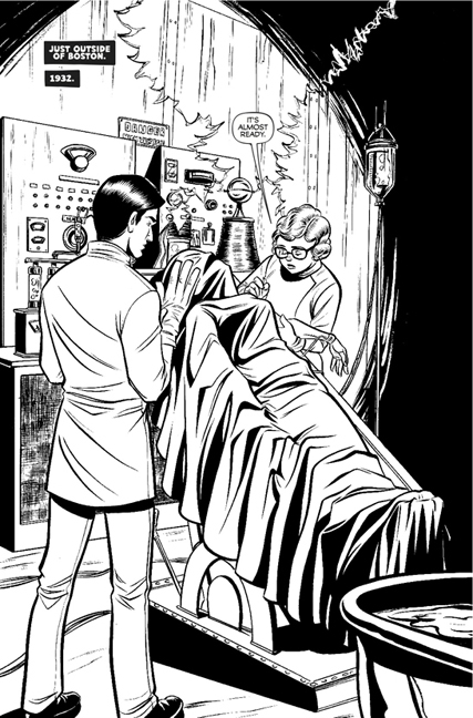 Madame Frankenstein #1 preview page 3.