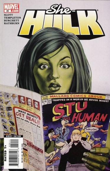 She-Hulk #20 cover by Emily Watson