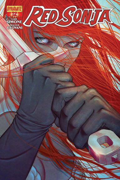 Red Sonja #12 Jenny Frison cover