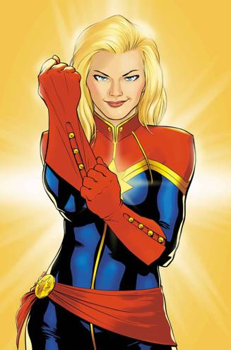The All-New Captain Marvel #1 by Kelly Sue DeConnick & David Lopez