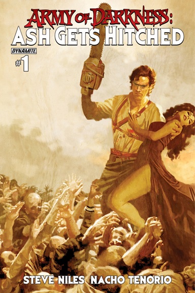 Army of Darkness: Ash Gets Hitched #1 Arthur Suydam cover
