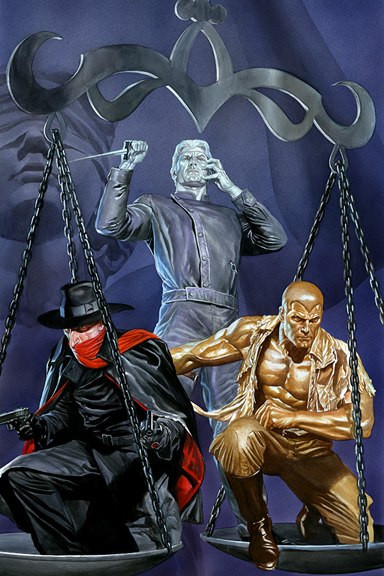 Justice, Inc. cover by Alex Ross