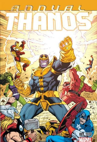 Jim Starlin and Ron Lim's Thanos Annual #1