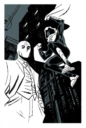 This September's Moon Knight #7 by Brian Wood and Greg Smallwood