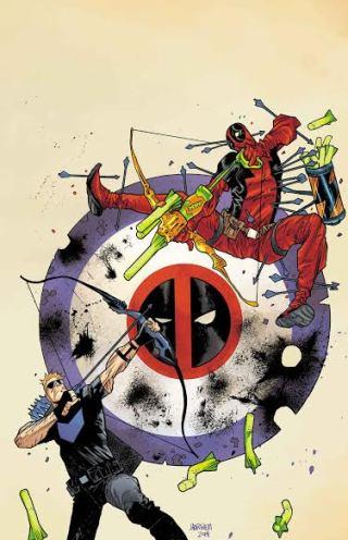 September's Deadpool VS Hawkeye #0 (of 5)