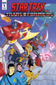 Image: Star Trek vs. Transformers #1 (cover A - Murphy) (Web Super Special) - IDW Publishing