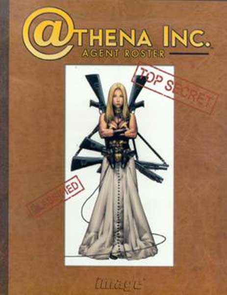 Image: Athena Inc. Agents Roster  - Image Comics