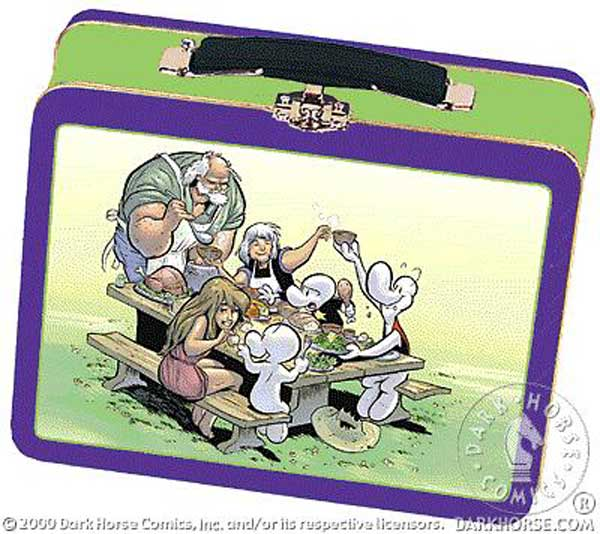 Image: Bone Lunch Box  -