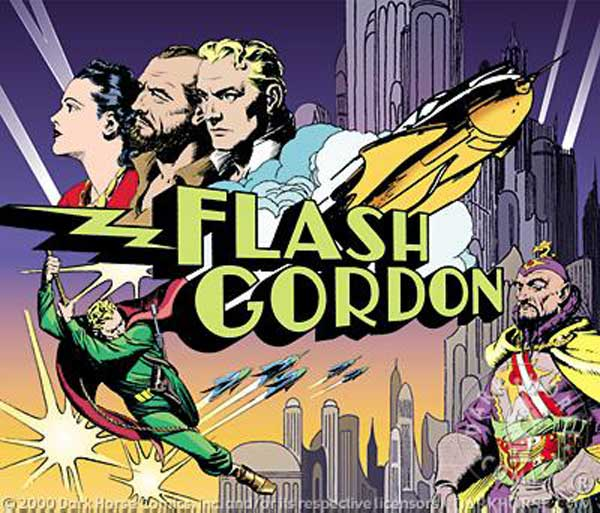 Image: Flash Gordon Lunch Box  -