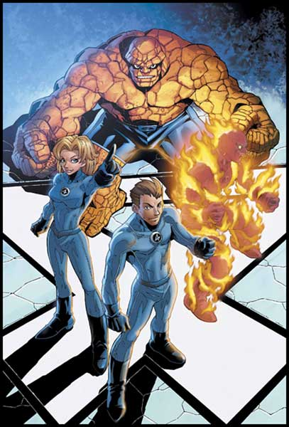 Image: Marvel Age Fantastic Four #5 - Marvel Comics