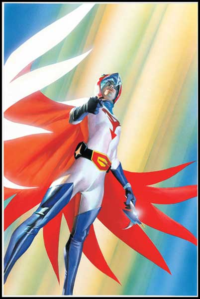 G Force Anime Characters : Battle of the planets alex ross pics about space