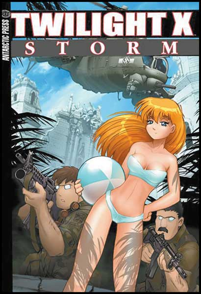 Image: Twilight X: Storm Pocket Manga Vol. 01 SC  - Antarctic Press