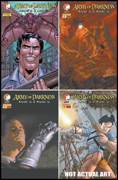 Image: Army of Darkness: Ashes 2 Ashes #4 - Devil's Due Publishing