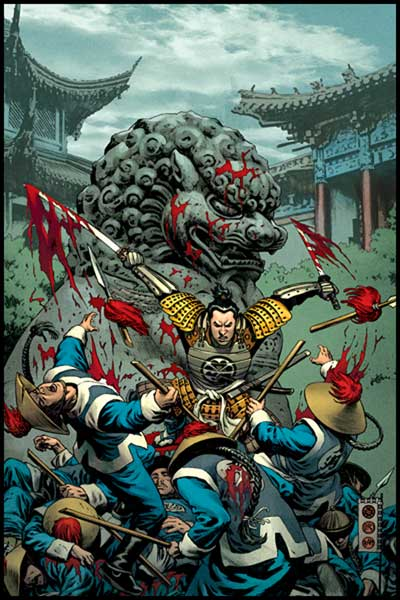 Image: Samurai: Heaven & Earth #2 - Dark Horse