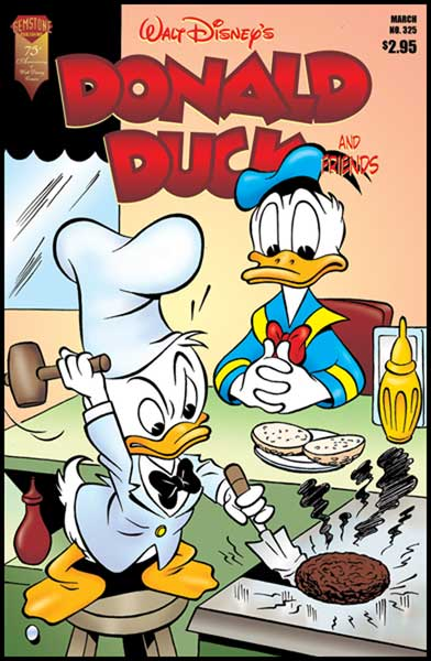 Image: Donald Duck and Friends #325 - Gemstone Publishing