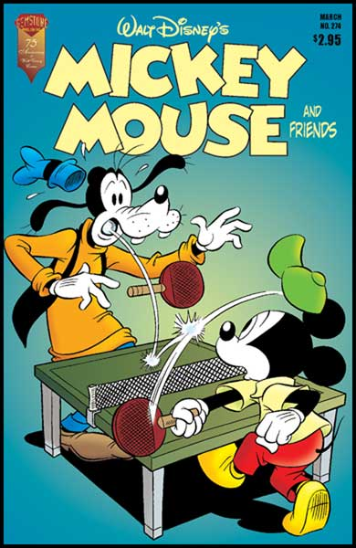 Image: Mickey Mouse and Friends #274 - Gemstone Publishing