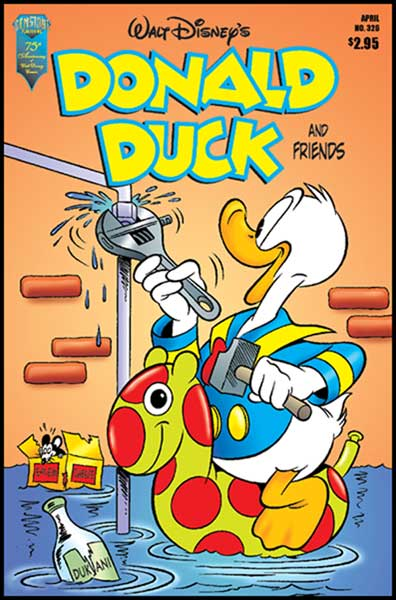 Image: Donald Duck and Friends #326 - Gemstone Publishing