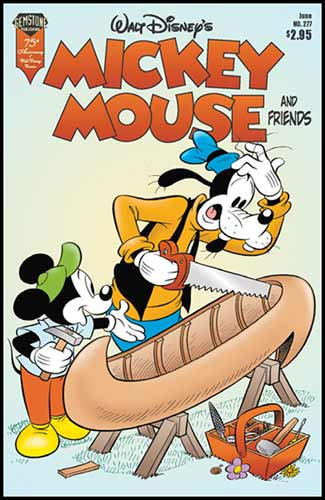 Image: Mickey Mouse and Friends #277 - Gemstone Publishing