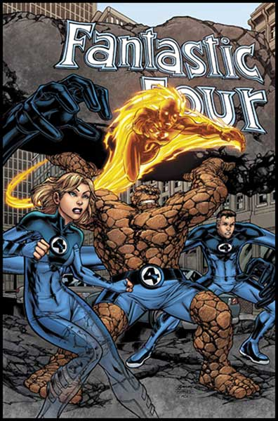 Image: Marvel Adventures Fantastic Four #1 - Marvel Comics