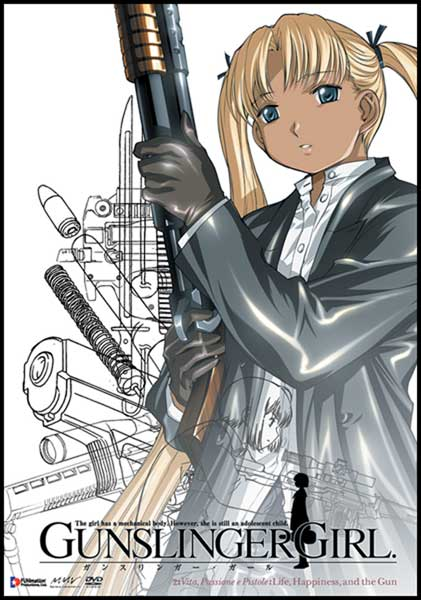 Image: Gunslinger Girl Vol. 2: Life, Happiness & Guns DVD - Uncut  -