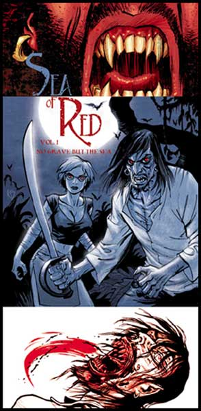 Image: Sea of Red Vol. 1: No Grave But the Sea SC  - Image Comics