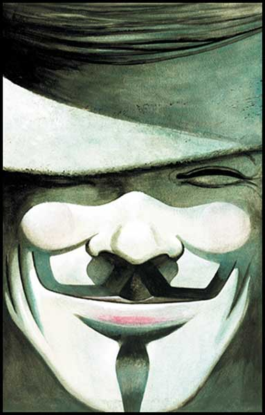 Image: V for Vendetta HC  (new ed.) - DC Comics