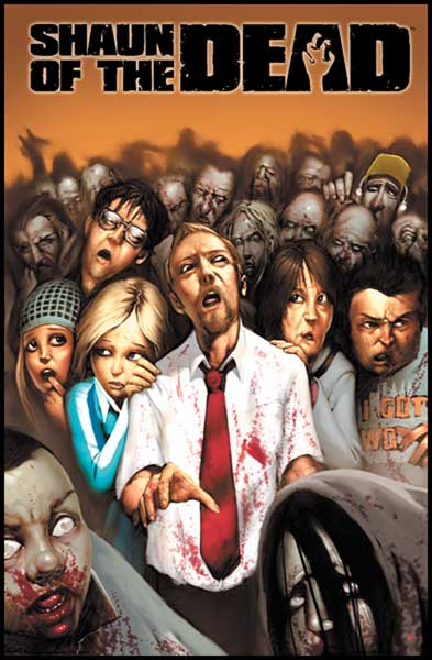 Image: Shaun of the Dead #3 - IDW Publishing
