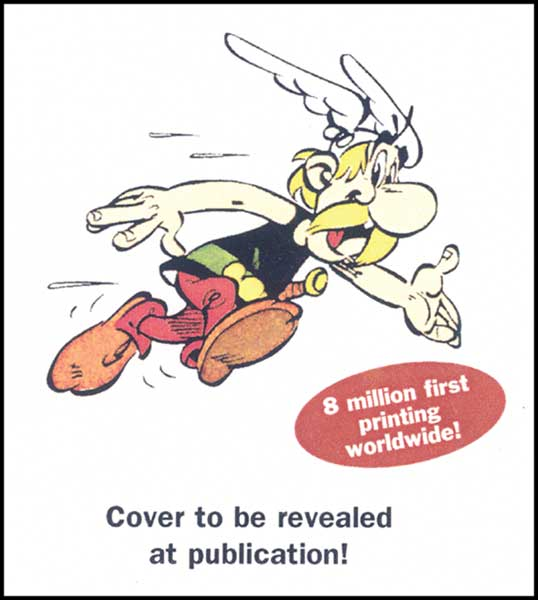 Image: Asterix and the Falling Sky HC  - Sterling Publishing