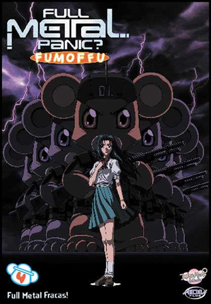 Image: Full Metal Panic Fumoffu Vol. 4: Full Metal Mania DVD  -