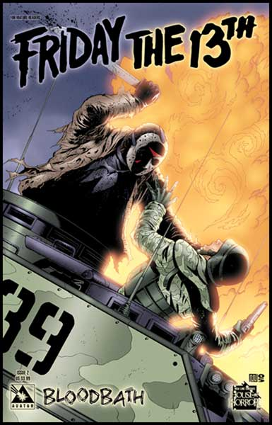 Image: Friday the 13th: Bloodbath #2 (regular cover) - Avatar Press